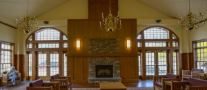 Reading Room at the Daniel Pierce Library.